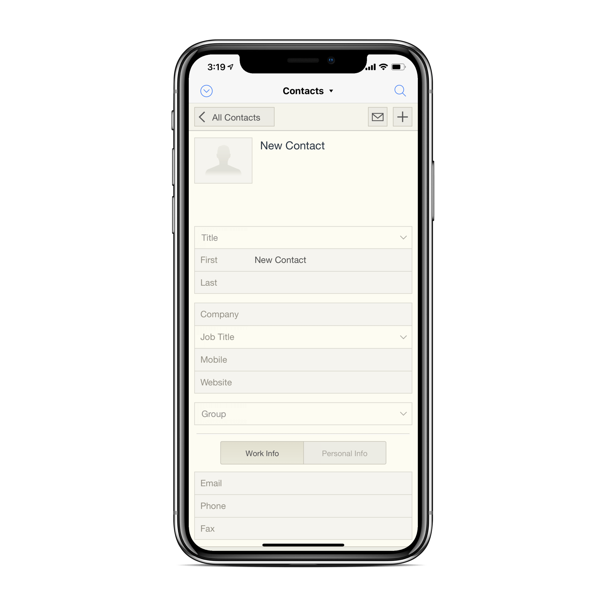 paper forms to mobile app